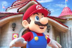 Mario Takes You Through Nintendo's Universal Studios Theme Park Land in New Trailer: Officially opening in Super Mario All Stars, Super Mario Land, Super Mario World, Super Mario Bros, Mario Fan Art, Mario Bros., Mario And Luigi, Mario Kart, Universal Studios Theme Park