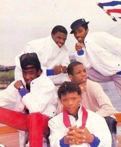 New Edition... love me, some Ronny, Bobby, Ricky, Mike & Ralph :)!
