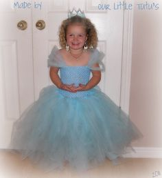 Cinderella tutu dress - like the sleeves but not the see through crochet