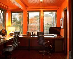Furniture, Admirable Home Office With Corner Desk For Two People Also