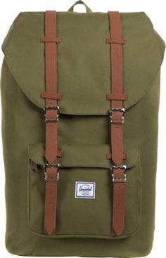 Herschel Supply Co. Little America Laptop Backpack Army - via eBags.com!