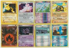 #Pokemon lot of 8 cards WITH RARES ALL PICTURED Not Perfect with #Pikachu Promo Pokemon Tcg Cards, Pokemon Go, Pikachu, Christmas List 2016, All Pictures, Fishing, Manga, Anime, Kids
