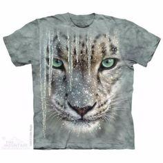 Camiseta  Leopardo de las Nieves