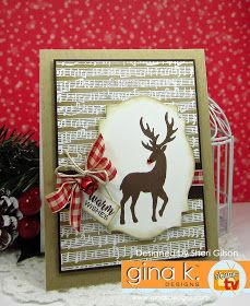 The Cast and Crew for Gina K Designs  welcomes you to another fabulous blog hop celebrating the new Home for the Holidays StampTV K...
