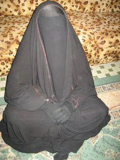 Overhead Abaya and Niqab