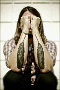 Foo Fighters*daves #tattos are so beautiful