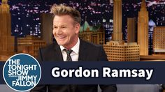 Gordon Ramsey talks The F Word with Jimmy Fallon, confesses tears over his pigs with The Tonight Show audience. Masterchef Junior, Chef Gordon Ramsay, James Thomas, Late Night Talks, Gordon Ramsey, Tonight Show, Saturday Night Live, Jimmy Fallon, Hd Backgrounds