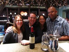 Healdsburg's Kendall Jackson Tasting Room - bringing together good friends and good wine.