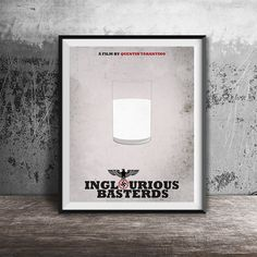Movie poster printInglourious Basterds-movie by OandBstudios