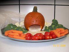 halloween veggie tray - Google Search