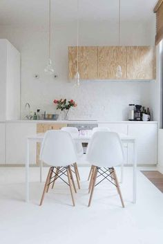 Keep your counters clear.   15 Minimalist Hacks To Maximize Your Life