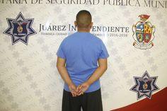 <p>Ciudad Juárez, Chih.- Agentes de la Policía Municipal adscritos a la Unidad Especializada en Violencia Doméstica, realizaron el arresto
