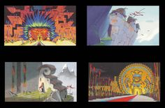 """""""Color Keys from The Emperor's New Groove by Colin Stimpson """""""