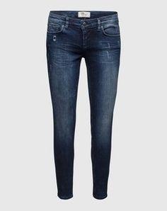 Dunkle 7/8-Skinny Jeans 'Mina' von LTB - EDITED.de