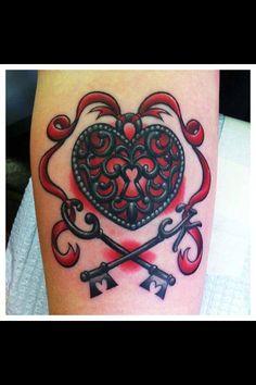 Lock & key to my heart