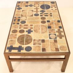 Located using retrostart.com > Coffee Table by Tue Poulsen for Haslev Møbelsnedskeri