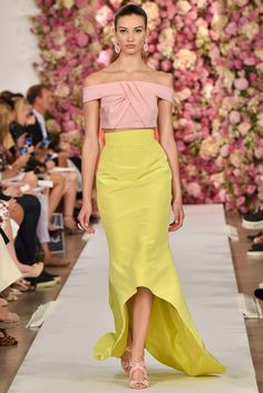 Oscar de la Renta Spring 2015 Ready-to-Wear Fashion Show - Irina Sharipova (WOMEN)