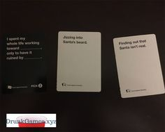 Cards Against Humanity makes a great Christmas gift!! lol