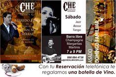 Sábados de Show Jazz, Bossa y Tango