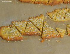 Knusprige Käse-Cracker | Das Knusperstübchen
