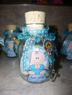 Botella Vidrio Recordatorio Denario Bautizo, 1ra Comunión - $ 4.500 en MercadoLibre