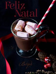 Chocolate Quente • Hot Chocolate | Doces do Bosque