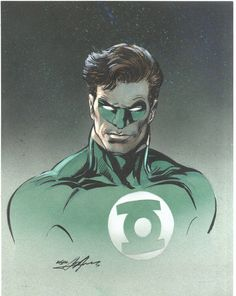 Green Lantern Drawing by NealAdams on @DeviantArt