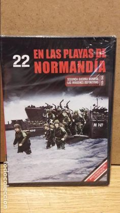 SEGUNDA GUERRA MUNDIAL Nº 22 / EN LAS PLAYAS DE NORMANDÍA / PRECINTADO.