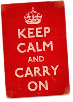 """Lo quiero para mi cubículo """"Keep Calm and Carry On"""" Alguna experiencia con esta tienda? http://www.keepcalmandcarryon.com/keep-calm-and-carry-on/posters-artwork/keep-calm-carry-on-red-poster/"""