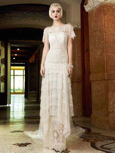 Verona wedding dress. YolanCris | Mademoiselle Vintage