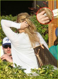 Stars Blingy Engagement Rings Hilary duff Engagement and Ring