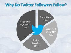Why do Twitter followers follow? - Mini Infographic by Jurevicious Studios