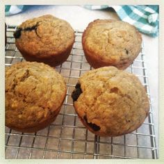 CanCan: Vegan Banana Blueberry Lactation Muffins