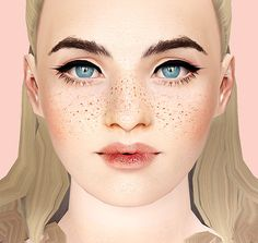 Sun freckles and moles by Aphrodite - Free Sims 3 Make Up Downloads Aphroditeisimmoral Custom Content Caboodle - Best Sims3 Updates and Finds