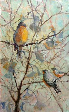 Spring Verse by Donna Shortt Oil ~ 24 x 15