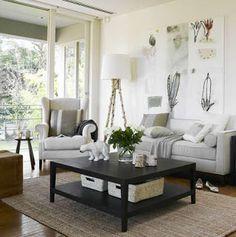 Light fresh living room