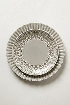 Grey!! Stratford Dinnerware #anthropologie