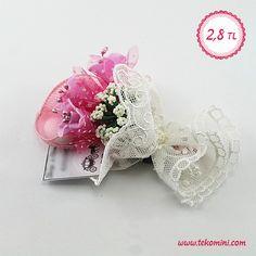 Çiçek Buketi Nikah Şekeri Pembe 2,8 TL Farklı renk seçenekleri vardır. #çiçek #buket #nikahşekeri #pembe #eflatun #tekomini