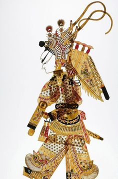 Chinese Traditional Carving Art Xian Shadow Puppet http://www.interactchina.com/carving-art/
