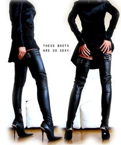 Image of L&R Stiletto Overknee STIEFEL Boots
