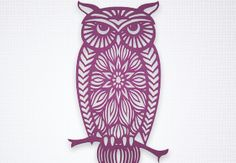 Free Cut File FCM Owl. Get yours now! Brother-USA