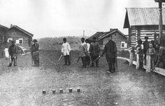 Деревенские развлечения, 1900 год.