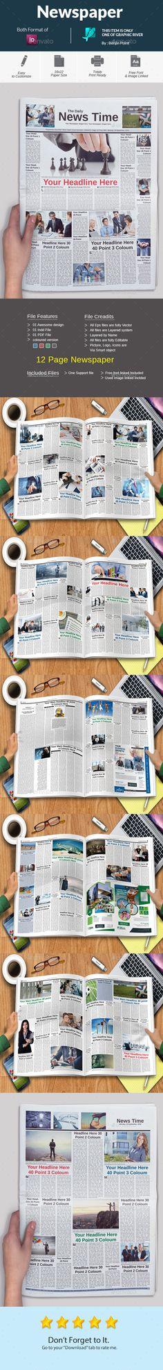 Newspaper - Newsletters Print Templates Download here : https://graphicriver.net/item/newspaper/17990259?s_rank=46&ref=Al-fatih