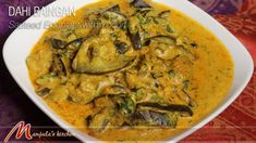 This video is about Dahi Baingan - Sauteed Eggplant with Yogurt Recipe by Manjula Dahi baingan sautéed Eggplant with Yogurt. This classic eggplant dish is ve...