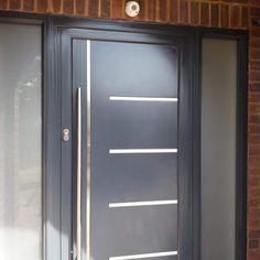 French Doors - Single Doors - Front Doors - Steel Look Doors - Pivot Door · 1st Folding Sliding Doors Pivot Doors, Front Doors, Sliding Doors, Single French Door, Single Doors, Art Deco Home, Locker Storage, Windows, Steel