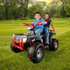 Peg Perego Polaris Sportsman XP850 ATV Battery Powered Riding Toy - Red - IGOD0518