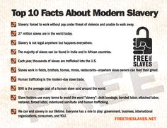 """Teaching The """"S"""" Word: Modern Slavery Resources"""