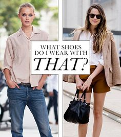 Pick The Right Shoes Every Time With Our Foolproof Guide via @WhoWhatWear