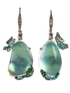 Arunashi Jelly Opal Earrings