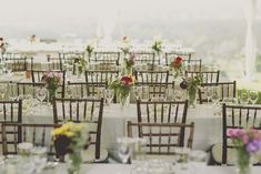 A Rustic, Outdoor Wedding in Cobourg, Ontario Rustic Dinner Tables, Place Settings, Table Settings, Harvest Tables, White Linens, Wood Chairs, Stunning Summer, Mother Of The Bride, Table Decorations